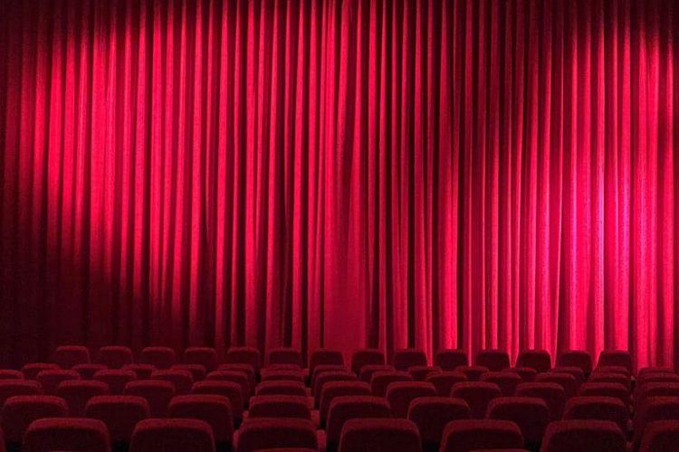 Movie theatre curtain