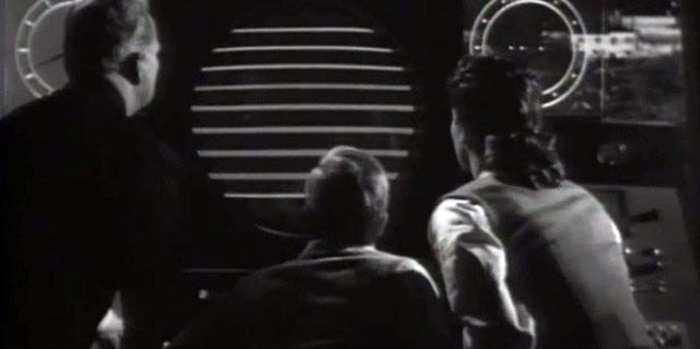 Red Planet Mars scene 1952 movie