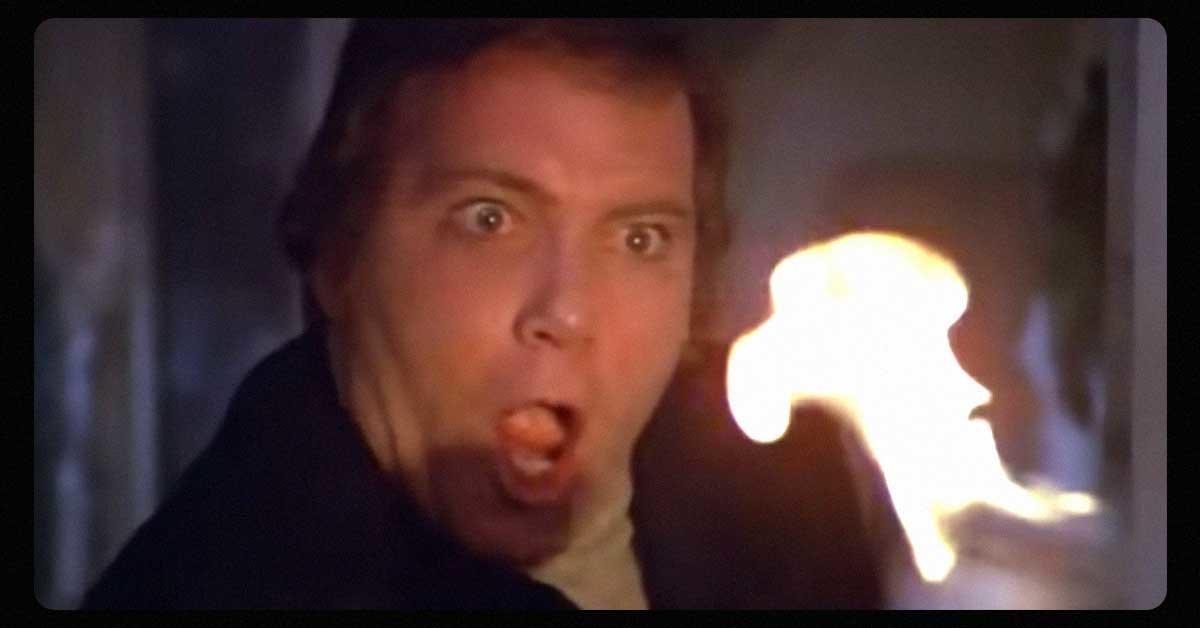 William Shatner stars in The Horror at 37,000 Feet