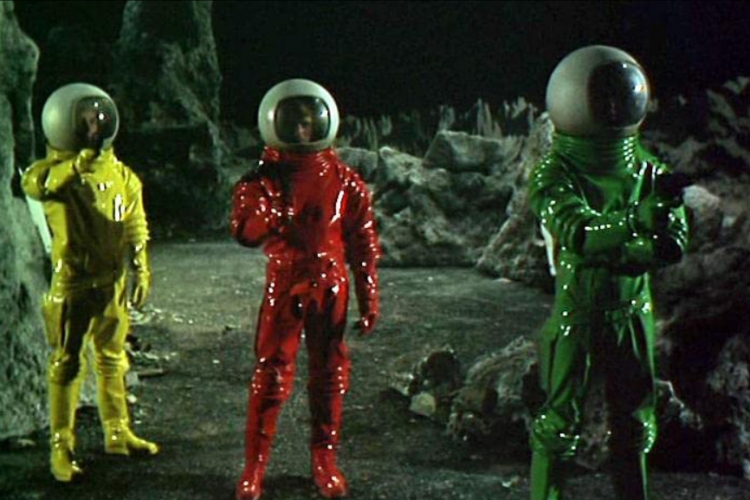 Moon Zero Two astronauts
